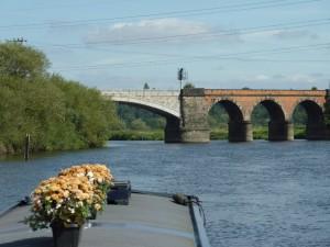 Railway bridge just outside Nottingham