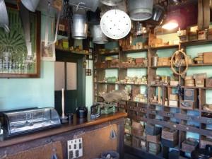A shop interior