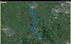 Today's route