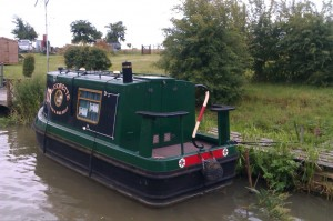 Quite possibly the shortest narrowboat I have ever seen!