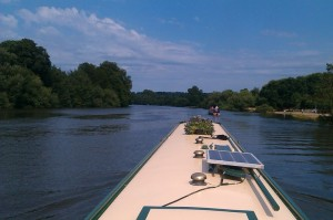 Coming down the tideway